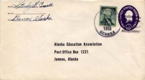 United States, Alabama, 1954 Liberty, Postal Stationery