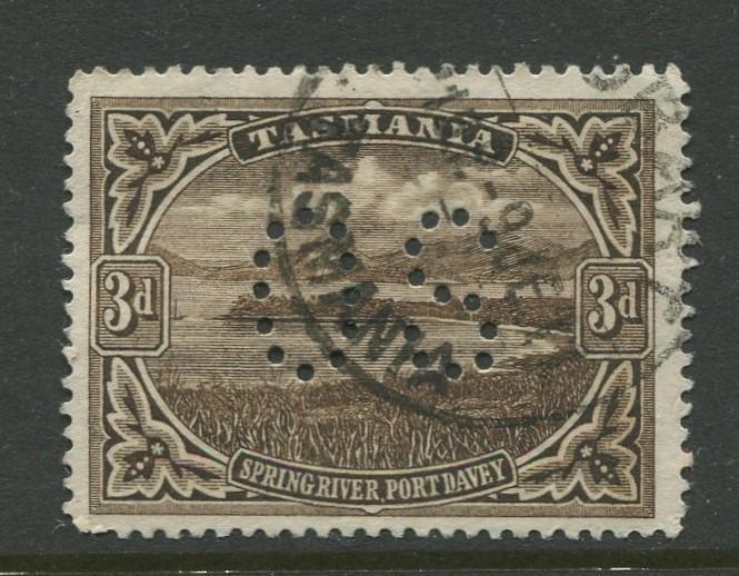 Tasmnia  #90  FU  1899 Single 3d Stamp