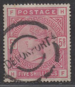 **Great Britian, SC# 108, Used, VF, Tiny Corner Perf Crease, Single Stamp