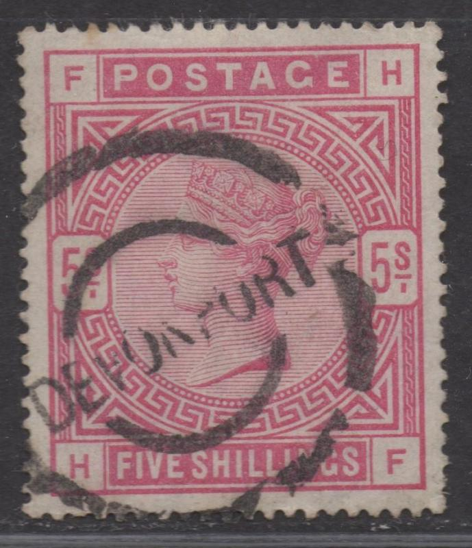 **Great Britian, SC# 108, MNG, VF, Small Thin, Single Stamp