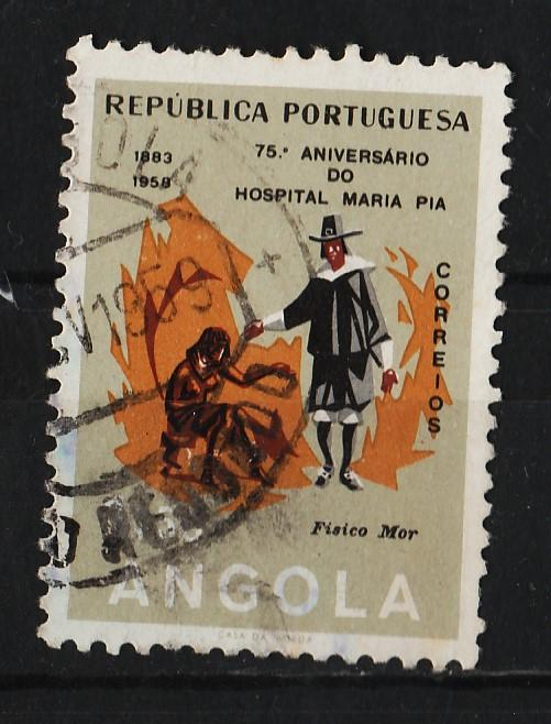 Angola 1958 75th Anniv of the Maria Pia Hospital 1$50 (1/3) USED
