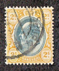 Transvaal Scott #262 Used