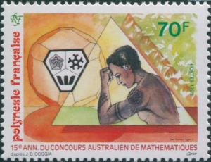 French Polynesia 1993 SG681 70f Mathematics Competition MNH