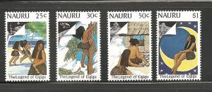 Nauru 1989 Moon landing set mnh scott cat. 364-367