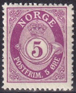 Norway #78 F-VF Unused  (K2825)