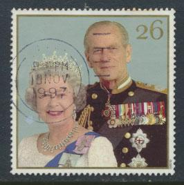 Great Britain SG 2012 Used    - Royal Golden Wedding