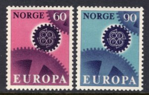 Norway 504-505 Europa MNH VF