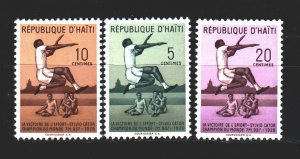 Haiti. 1958. from the series 483-85. Jumping, sport. MNH.