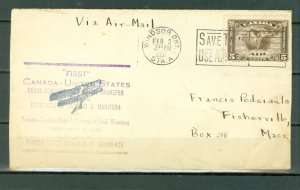 CANADA #C2 on VERY NICE 1931  AIR COVER..