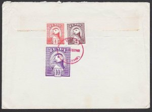GB LUNDY 1981 cover - Puffin stamps.........................................F847