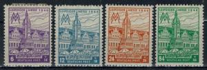 Germany - Russian Zone - West Saxony - Scott 14NB13-14NB16 MH