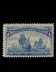 Scott #233 F/VF-OG-NH. SCV - $140.00
