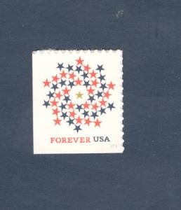 5131a (CF1) Patriotic Spiral Counterfeit (No Microprinting) Booklet Single MNH