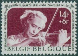 Belgium 1976 SG2426 14f+6f Quuen Elisabeth violin MNH