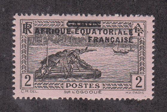 French Equatorial Africa Scott #2 MH