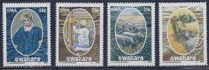 South West Africa MNH 570-3 Swakara Sheep Goods 1986