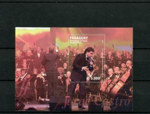 Paraguay 2014 MNH Homage to Jorge Castro Tenor 1v S/S Music