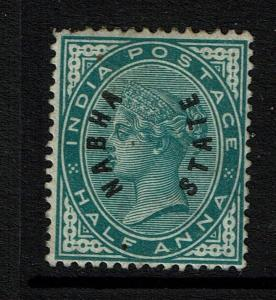 Nabha SG# 1, Mint No Gum, Hinge Remnant -  Lot 053117