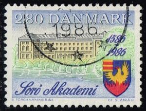 Denmark #816 Soro Academy; Used (0.50)