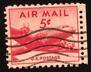 US #C33 Used F/VF - Airmail