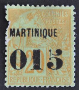 DYNAMITE Stamps: Martinique Scott #8 – UNUSED