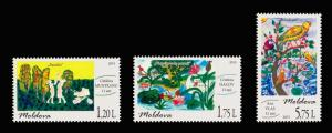Moldova 2015 Art: International Children Day 3 MNH stamps