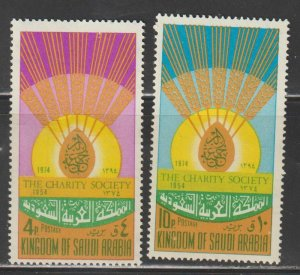 Saudi Arabia SC 676-7  Mint  Never Hinged