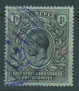 East Africa & Uganda SG 53 Used