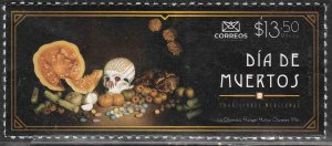 MEXICO NEW ISSUE, DIA DE MUERTOS (DAY OF THE DEAD), 2020. MINT NH VF.