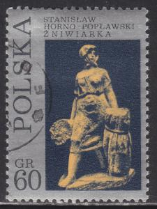 Poland 1830 Harvesting Wheat 1971
