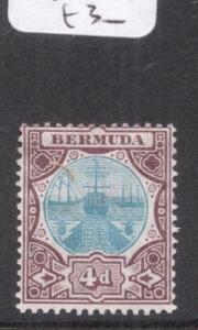 Bermuda SG 42 MOG (1dhp)