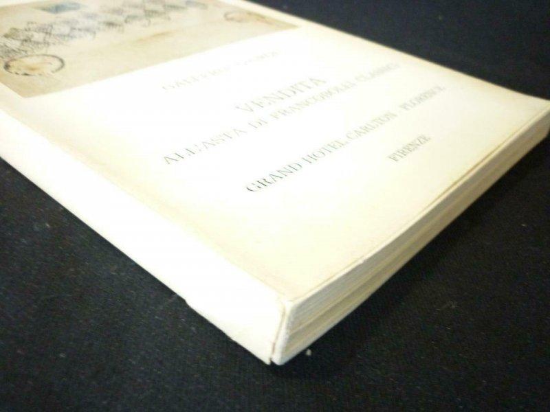 GALLERIA GIORGI AUCTION CATALOGUE 1969 VENDITA ALL'ASTA DI FRANCOBOLLI CLASSICI