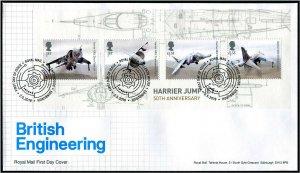 HERRICKSTAMP GREAT BRITAIN Sc.# 3845 Engineering S/S FDC - Edinburgh