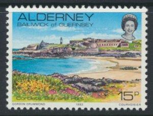 Alderney  SG A9  SC# 9 1983 Definitive   Bay & Fort  MNH  see scan