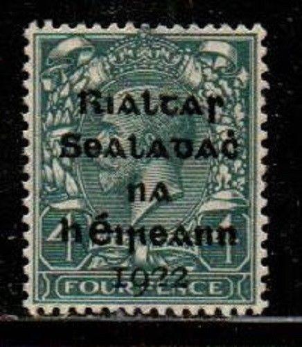 Ireland Scott 5 Mint NH VF (Catalog Value $17.00)
