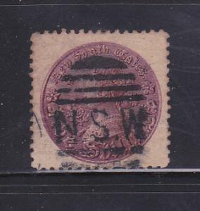 New South Wales 101 Set U Queen Victoria (A)