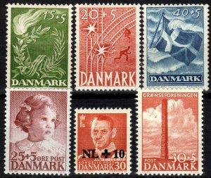 Denmark #B15-8, B20-1 MNH CV $5.00  (X2351)