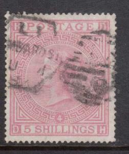 Great Britain #90a (SG #134) VF Used **With Certificate**