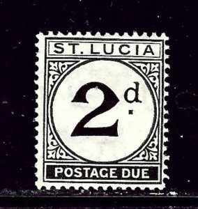 St Lucia J4 MH 1933 issue