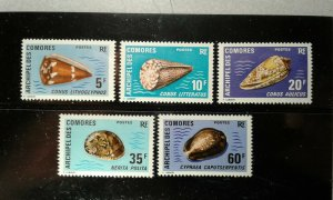 Comores #99-103 MNH e204 8438