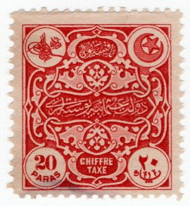 (I.B) Turkey Revenue : Postal Tax 20pa