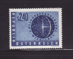 Austria 611 Set MNH Globe (B)