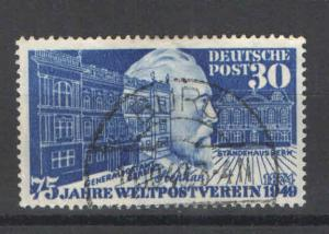 Germany 1949 Sc# 669 Used H VF