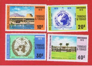 Trinidad& Tobago #231-234  MNH OG  Economic Commission  Free S/H