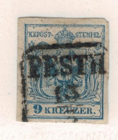 Austria Stamp Scott #5e, Used - Free U.S. Shipping, Free Worldwide Shipping O...