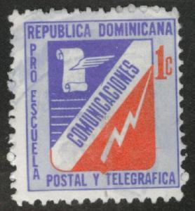 Dominican Republic Scott RA53 used Postal tax 1972