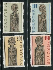 Faroe Islands #55-8 MNH (Box1)
