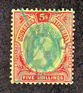 Southern Nigeria Scott #41 Used