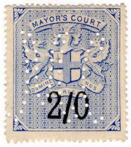 (I.B) QV Revenue : Mayor's Court 2/-