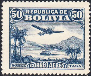 Bolivia  #C31   MNH
